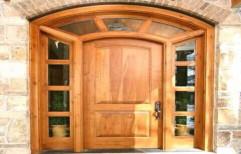 LRF Modern Teak Wood Door, For Home, Size: 90 X 200