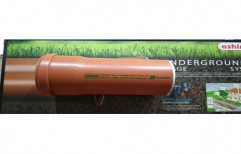 UPVC 110 mm Ashirvad Underground Pipe, Length of Pipe: 6 m