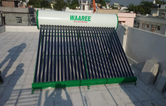 34 58 X 2100 Mm 500 LPD ETC - Waaree Solar Water Heater