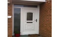 Casement Toughened Glass UPVC Main Door