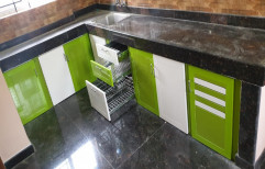 Classic Pvc Stylish Modular Kitchen