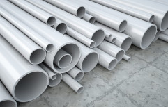 Grey Hard Tube PVC Pipes, Nominal Size: 1/2, Length of one pipe: 6m