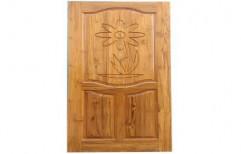Wood Wooden Carved Panel Door
